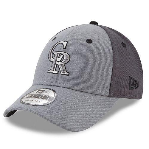 Men's New Era Milwaukee Brewers Gray Colorblock Cap