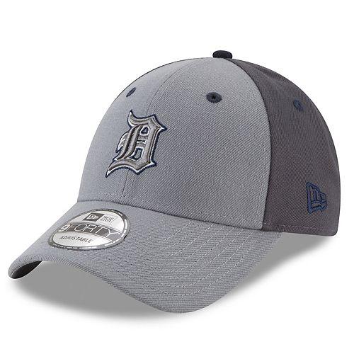 Men's New Era Detroit Tigers Gray Colorblock Cap