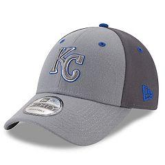 Men's New Era Kansas City Royals Gray Colorblock Cap