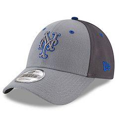Men's New Era New York Mets Gray Colorblock Cap