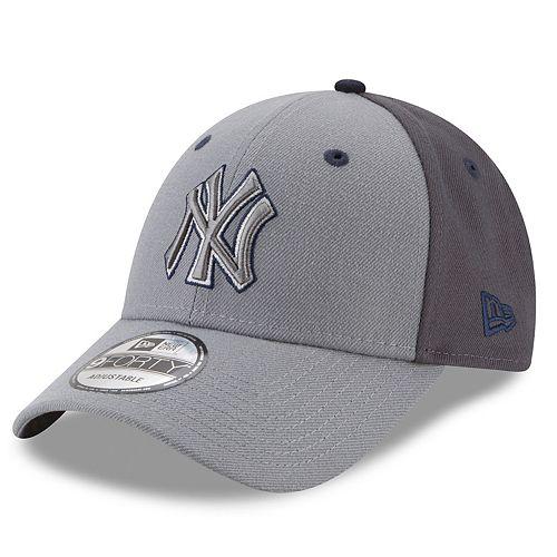 Men's New Era New York Yankees Gray Colorblock Cap