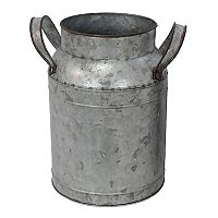 SONOMA Goods for Life™ Large Galvanized Farmhouse Bucket Vase