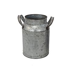 SONOMA Goods for Life™ Small Galvanized Farmhouse Bucket Vase