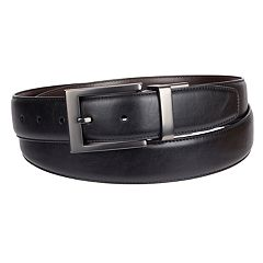 Big & Tall Croft & Barrow® Shoulder Grain Reversible Belt