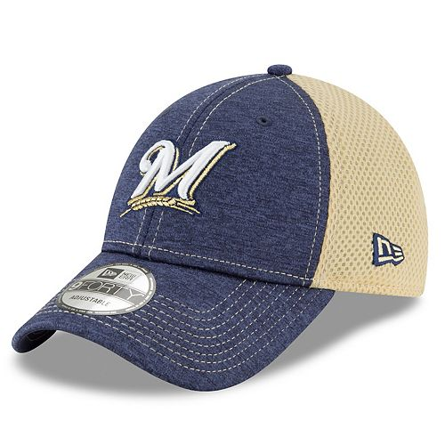 Men's New Era Milwaukee Brewers Mesh Back Cap