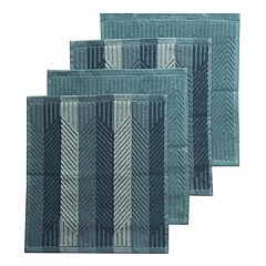Food Network™ Solid & Striped Dishcloth 4-pk.