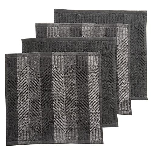 Food Network™ Sculpted Dishcloth 4-pack