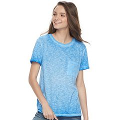 Juniors' SO® 1-Pocket Heathered Tee