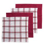 Food Network? Plaid Dishcloth 4-pk.