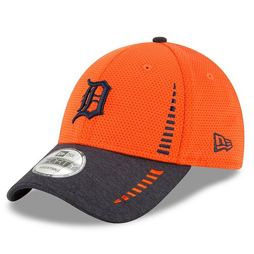 Adult New Era Detroit Tigers 9FORTY Speed Tech Adjustable Cap