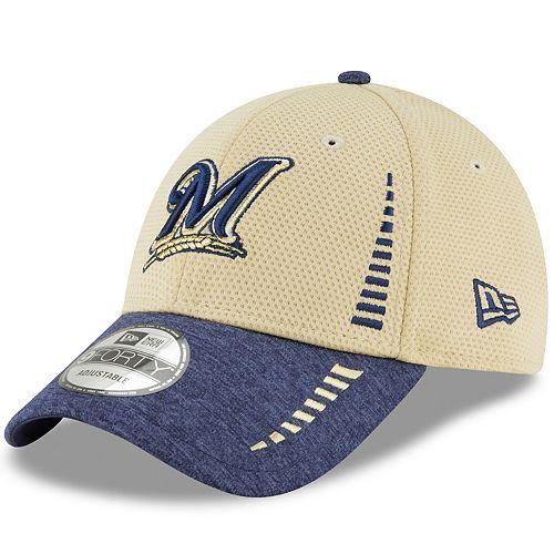 Men's New Era Milwaukee Brewers Speed Tech Cap