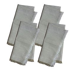 Food Network™ Farmhouse Fringe Napkin 4-pack