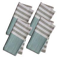 Food Network™ Farmhouse Striped Napkin 4-pack