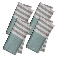Food Network™ Farmhouse Striped Napkin 4-pack