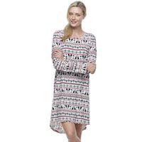 Women's Croft & Barrow® Pajamas: Cabin Retreat Sleep Shirt