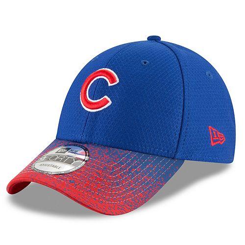 Men's New Era Chicago Cubs Blur Visor Cap