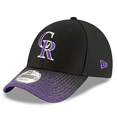 Men's New Era Colorado Rockies Blur Visor Cap