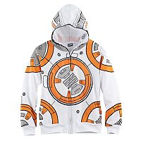 Boys 8-20 Star Wars BB-8 Full-Zip Hoodie