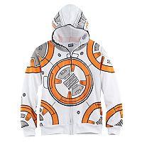 Boys 8-20 Star Wars BB-8 Full-Zip Hoodie