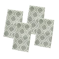 Food Network™ Gray Trellis Print Napkin 4-pack