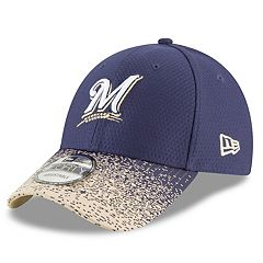Men's New Era Milwaukee Brewers Blur Visor Cap