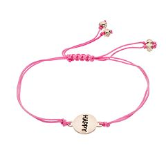LC Lauren Conrad 'Happy' Slipknot Bracelet