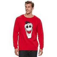 Big & Tall A Nightmare Before Christmas Jack Skellington Holiday Fleece Sweatshirt