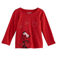Disney's Minnie Mouse Baby Girl Slubbed Star Constellation Graphic Tee by Jumping Beans®