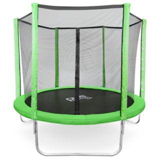 Pure Fun Dura-Bounce 8-Foot Trampoline & Enclosure Net Set