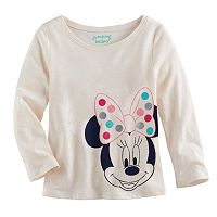 Disney's Minnie Mouse Baby Girl Long-Sleeve Graphic Tee by Jumping Beans®