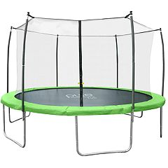 Pure Fun Dura-Bounce 15-Foot Trampoline & Enclosure Net Set