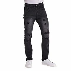 Men's True Luck Hooper Slim-Fit Jeans