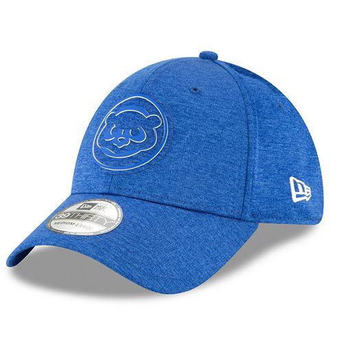 Men's New Era Chicago Cubs Shadow Tech Heathered Cap