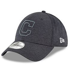 Men's New Era Cleveland Indians Shadow Tech Heathered Cap