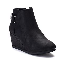 sugar Mixup Women's Wedge Ankle Boots