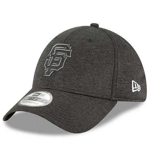 Men's New Era San Francisco Giants Shadow Tech Heathered Cap