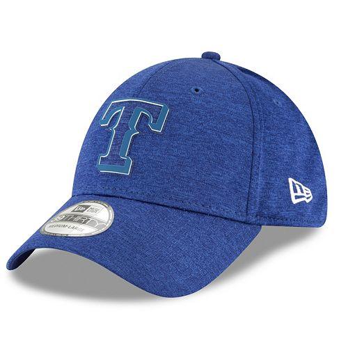 Men's New Era Texas Rangers Shadow Tech Heathered Cap