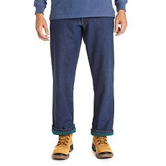 Big & Tall Stanley Fleece-Lined 5-Pocket Jeans