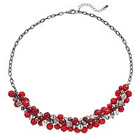 Red Shaky Bead Necklace