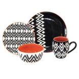 Baum Wavy 16-pc. Dinnerware Set