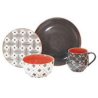 Baum Lynx 16-pc. Dinnerware Set