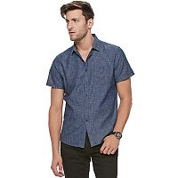 Men's Marc Anthony Slim-Fit 1-Pocket Button-Down Shirt