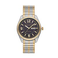 Armitron Men's Two Tone Expansion Watch - 20/4591BKTT