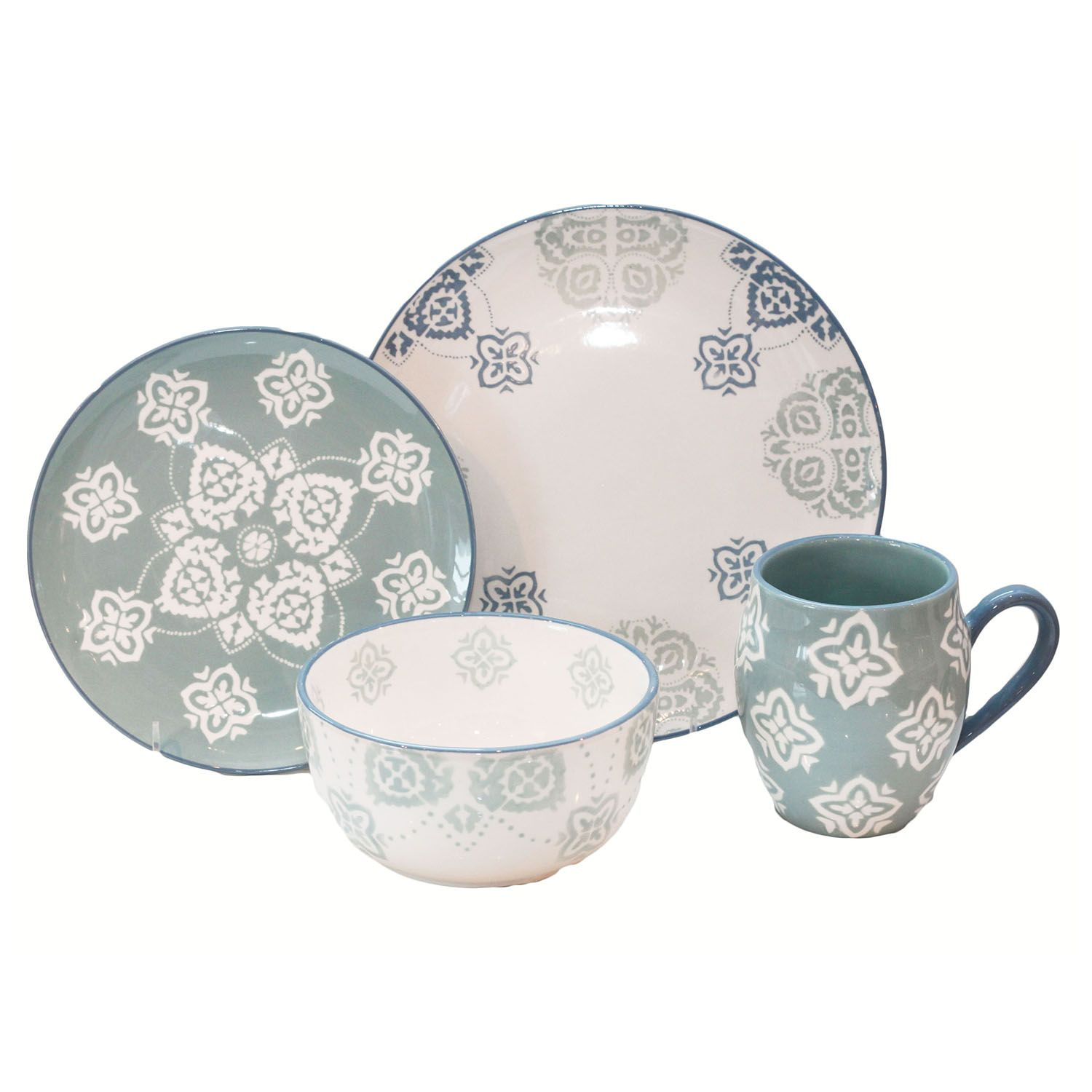 Baum Painterly 16-pc. Dinnerware Set  sc 1 st  Kohlu0027s & Baum Dinnerware u0026 Serveware Kitchen u0026 Dining | Kohlu0027s