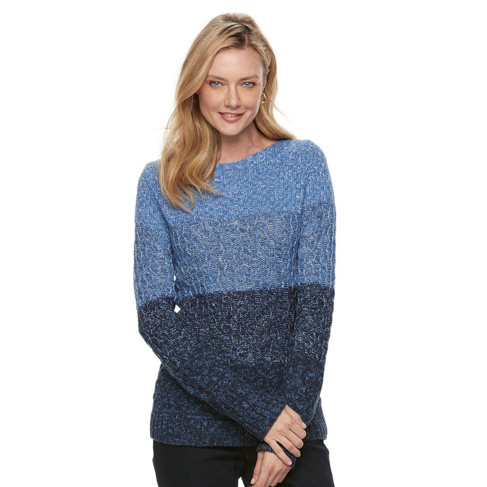 Croft & Barrow® Textured Sweater