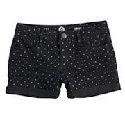 Girls 7-16 & Plus Size SO® Rolled Cuff Shortie Jean Shorts