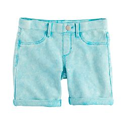 Girls 7-16 & Plus Size SO® Rolled Cuff Midi Shorts