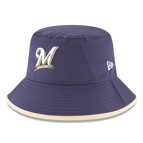 Men's New Era Milwaukee Brewers Clubhouse Bucket Hat