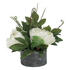 SONOMA Goods for Life™ Farmhouse Artificial Peony Flower Arrangement
