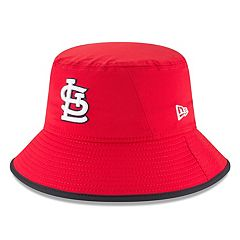 Men's New Era St. Louis Cardinals Clubhouse Bucket Hat